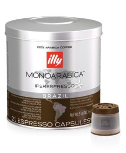 illy iperEspresso Monoarabica Brazil