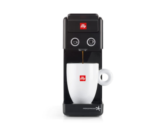 Francis Francis Y3.2 iperEspresso illy Capsule Machine - Food ...