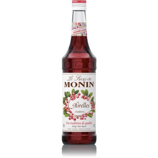 MONIN Cranberry Syrup 70cl