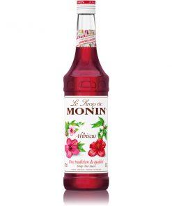 Monin HIbiscus 70cl bottle.