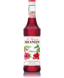 Monin HIbiscus 70cl bottle.