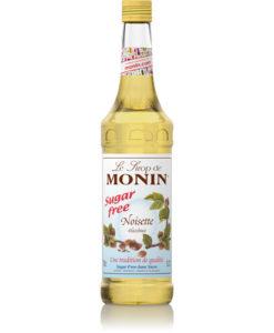 Monin Hazelnut Sugar Free 1 Litre