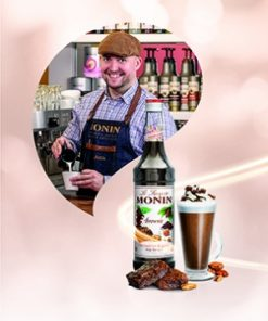 MONIN Brownie Syrup 1ltr