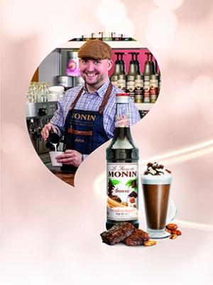 MONIN Brownie Syrup 1ltr