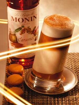 Monin Caramel Syrup 1ltr