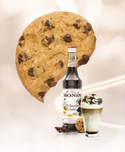 Monin Chocolate Cookie Syrup 1ltr