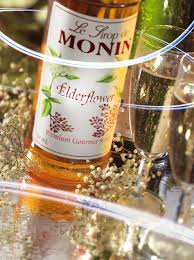 Monin Elderflower Cocktail Syrup 70cl