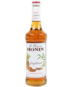 Monin Gingerbread Syrup 1ltr