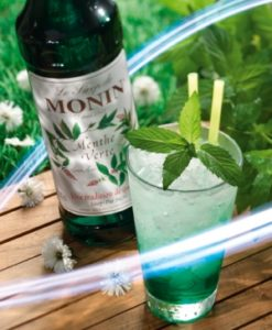 Monin Green Mint Cocktail