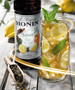 lemon tea drink
