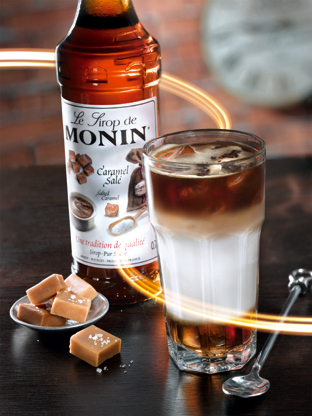 Monin Salted Caramel Iced Syrup 1 Litre Food Solutions Ltd Dundalk