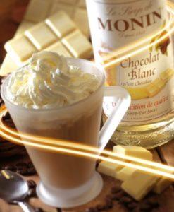 Monin White Chocolate Frappe