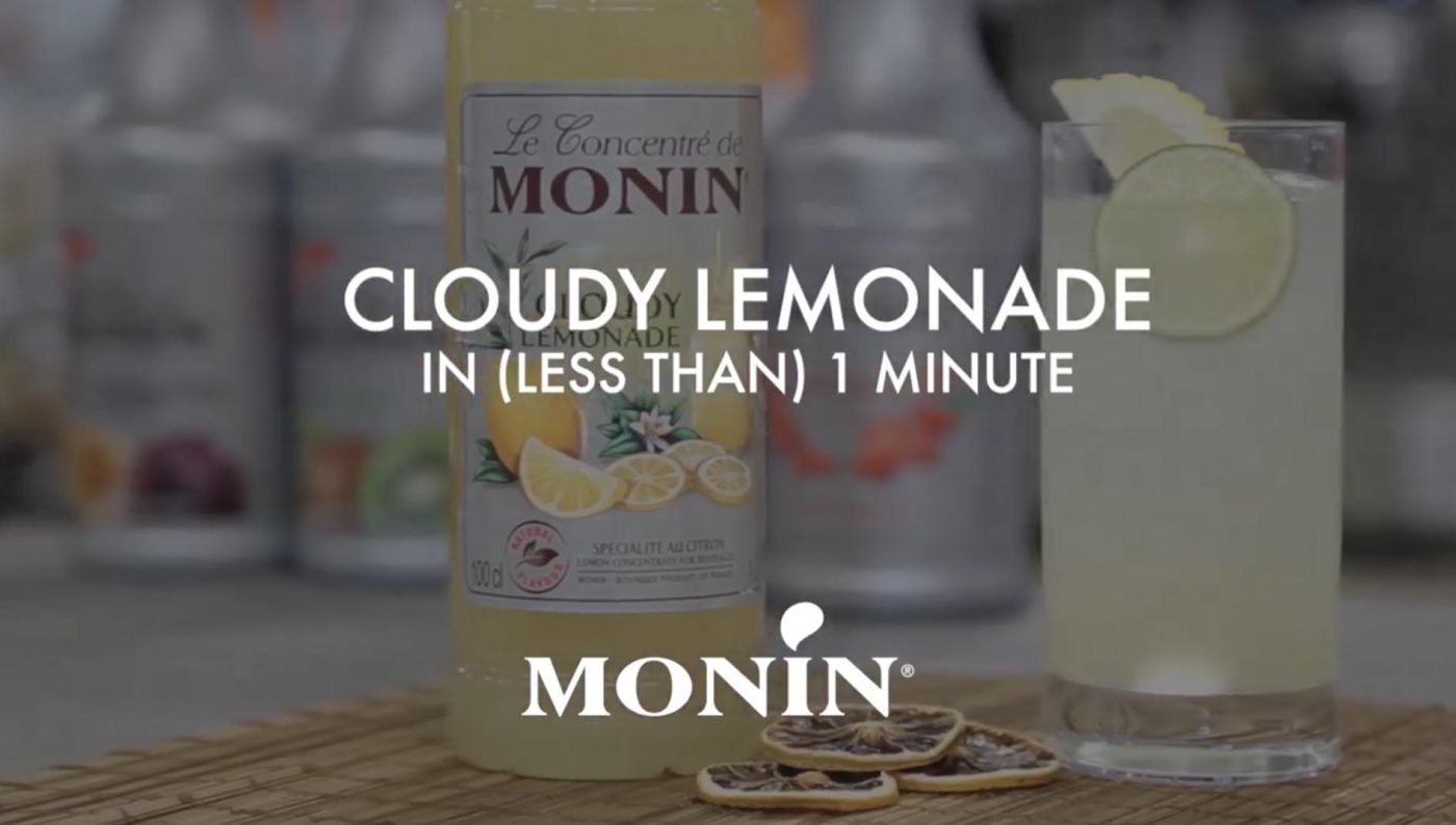 MONIN Cloudy Lemonade recipe cover