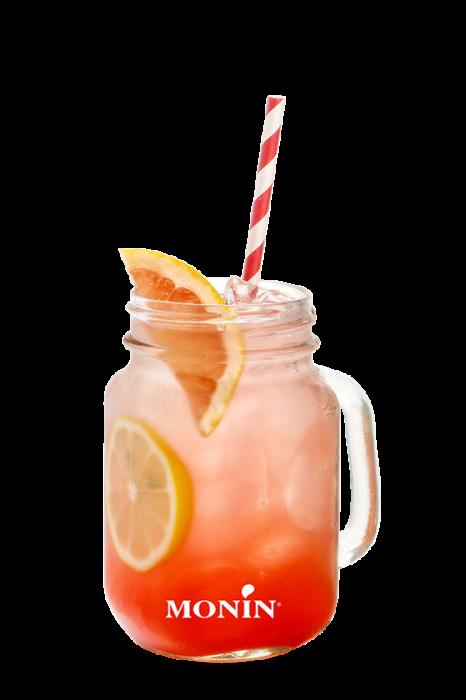 Monin pink grapefruit gin fusion recipe