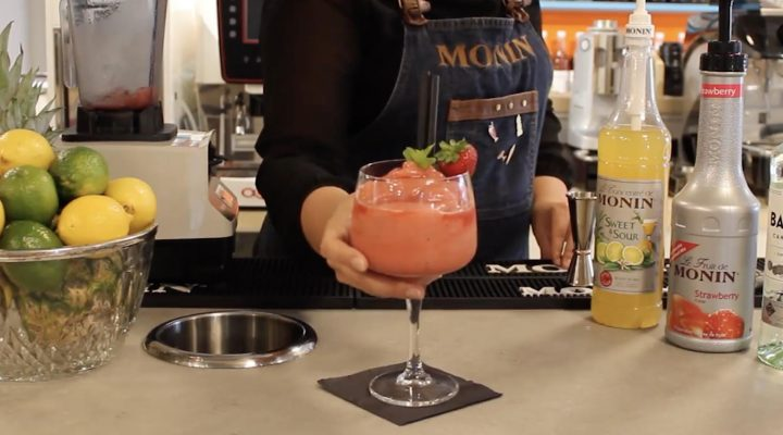 Monin strawberry daiquiri recipe