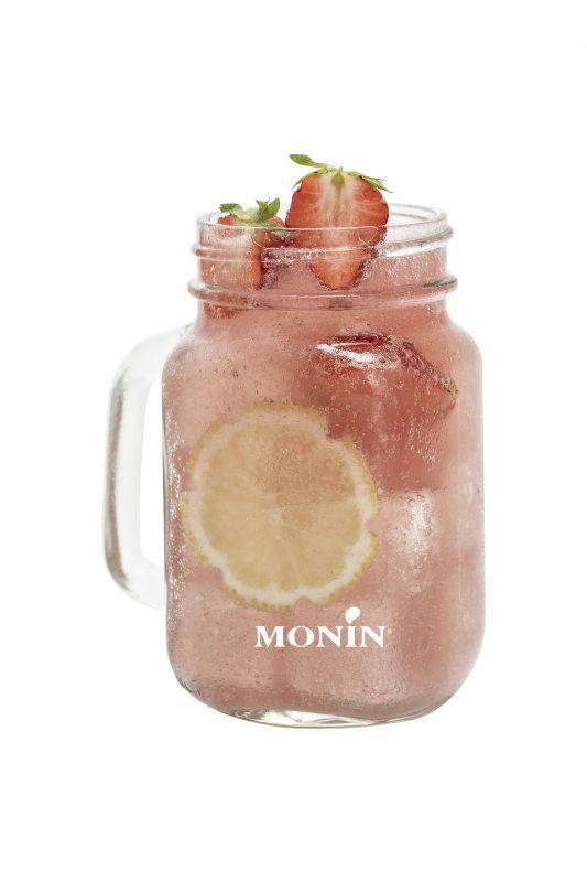 Monin strawberry lemonade drink recipe
