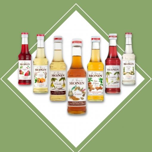 MONIN 25cl mix and match special offer